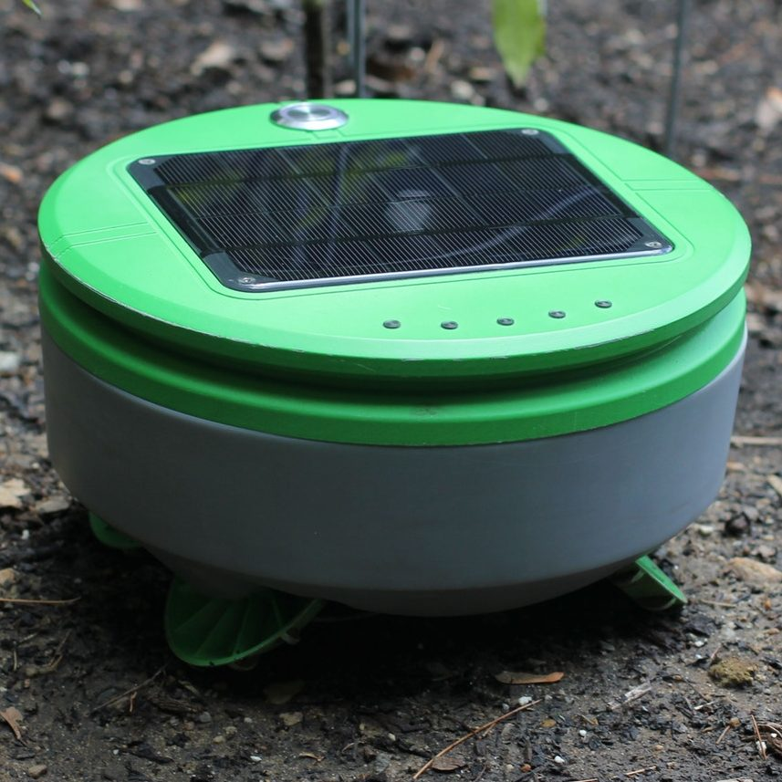 Tertill: The solar powered weeding robot