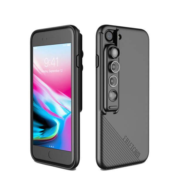 SHIFTCAM 2.0: 12 Camera-Enhancing Lens in 1 Sleek Phone Case
