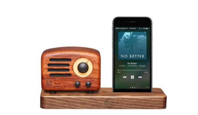 MUZEN OTR Wood : A Retro Radio Bluetooth Speaker