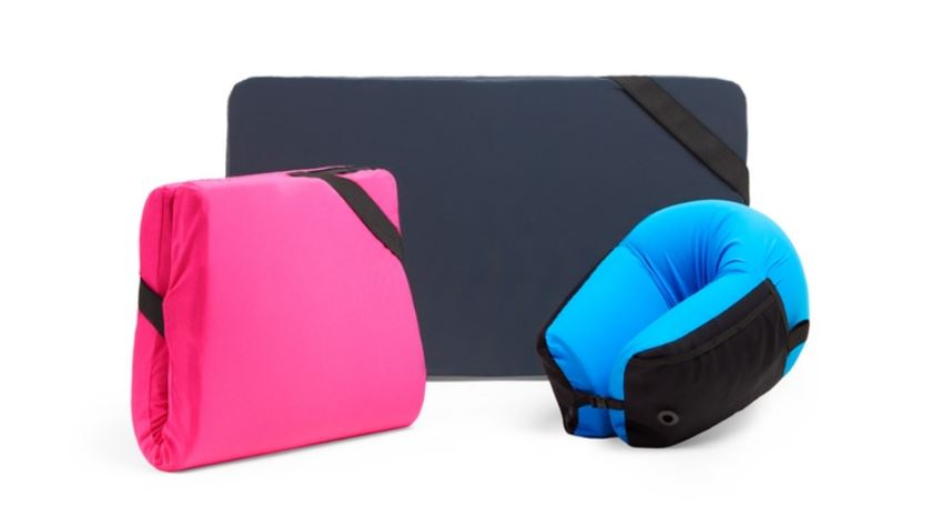 Omni-Pillow - One travel pillow, endless sleeping possibilities