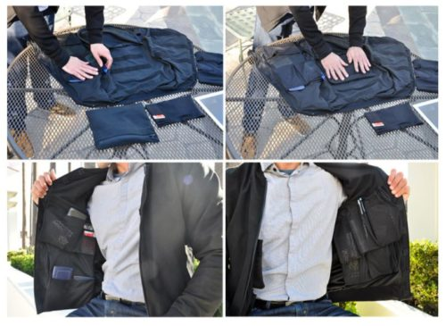 PLUS: The 3-in-1 Smart Self Cleaning Travel Jacket