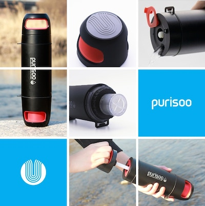 Purisoo - Water Purifier On the Go