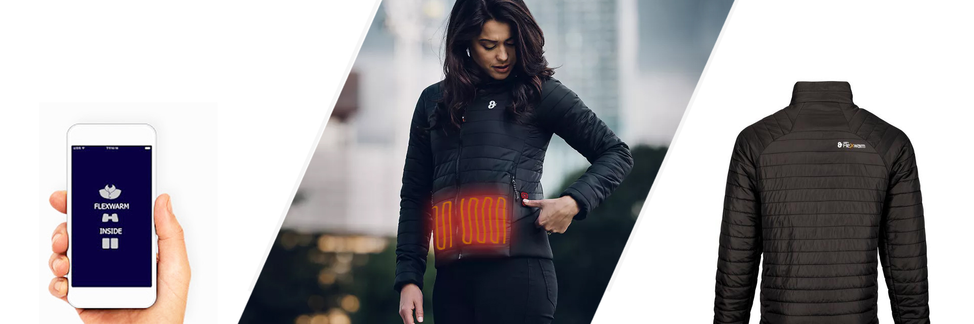 8K Flexwarm Heated Jacket