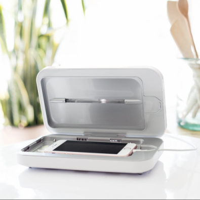 PhoneSoap  - UV Phone Sanitizer kills nearly all the bacteria on your phone