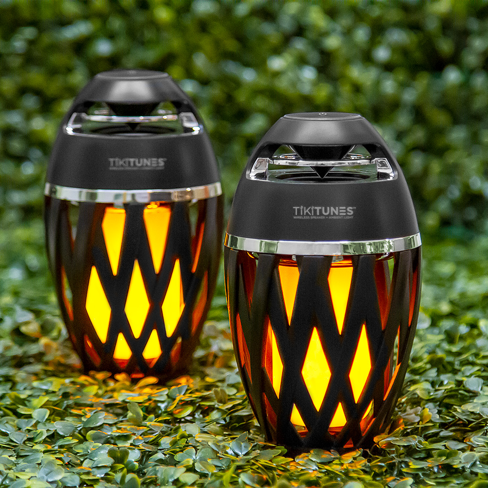 Tiki Tunes Ambient LED Outdoor Bluetooth Speaker