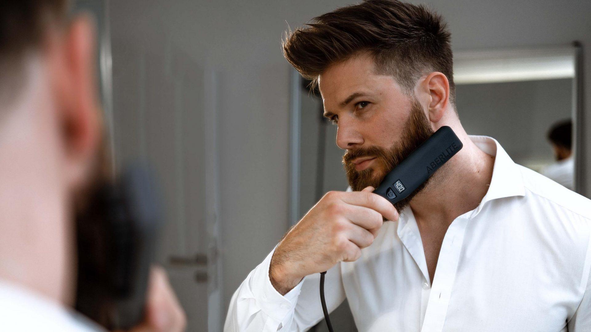 Aberlite Pro Beard Straightener