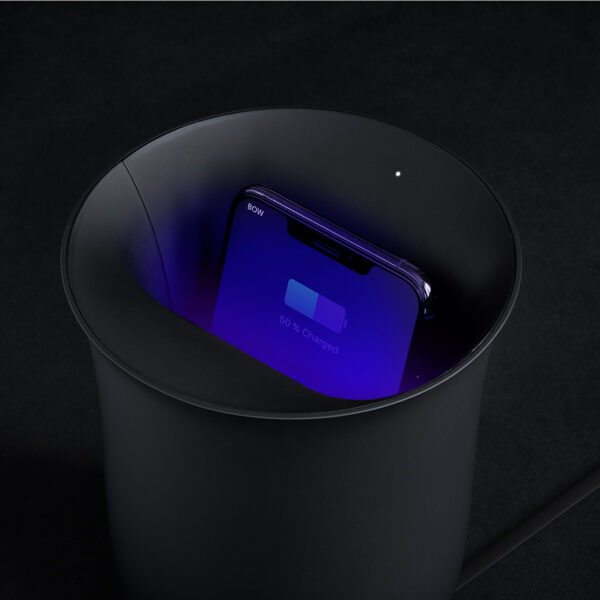 Lexon Oblio Wireless Charging Station & UV Sanitizer