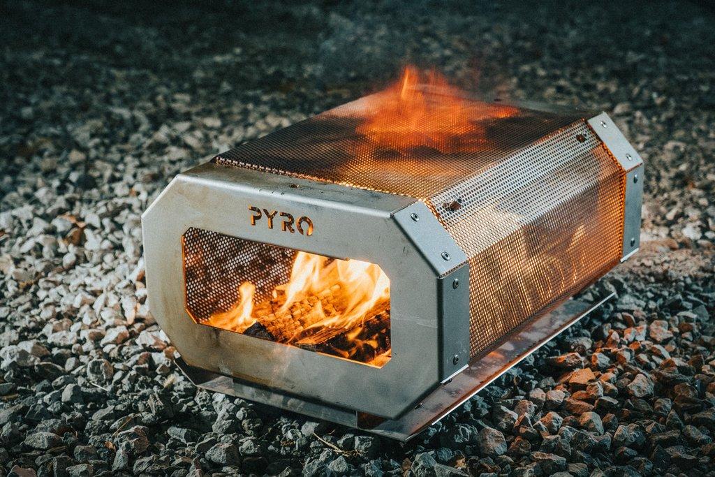 Pyro Camp Fire - Portable Fire Pit Kit
