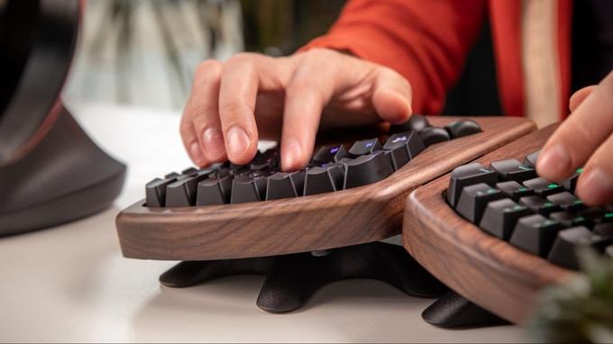 The Keybardio Model 100 Keyboard