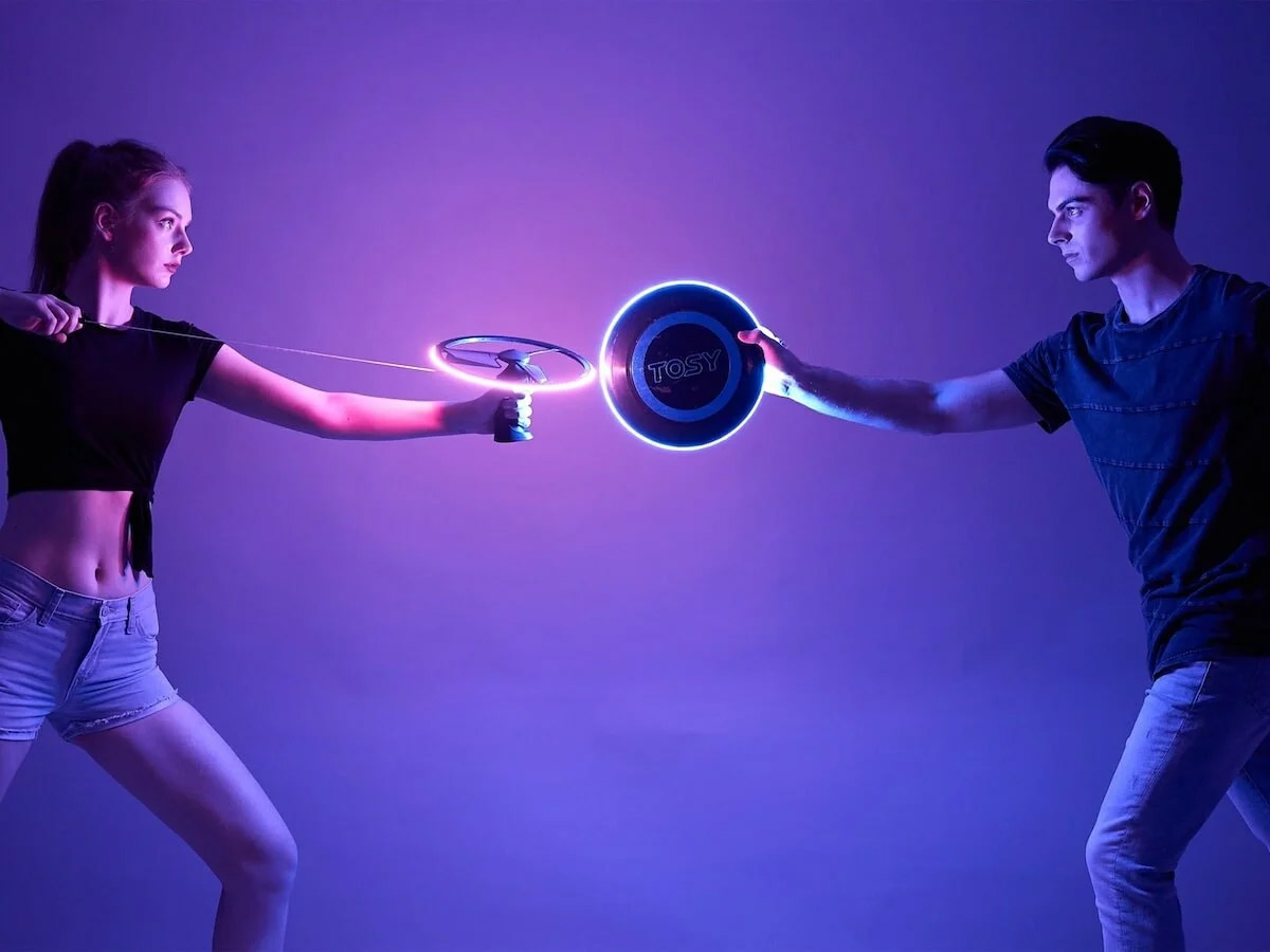 TOSY Flying Duo - 360 LED Flying Disc