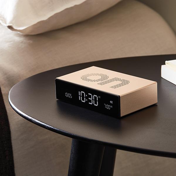 Lexon Flip Premium Alarm Clock